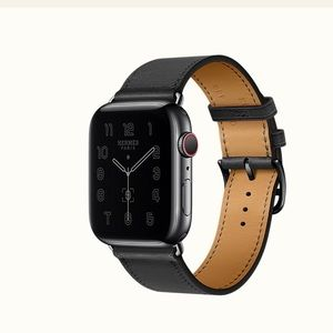 Hermès Series 6 Apple Watch 44mm Space Black